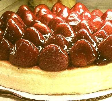 Cake, Strawberries, Cheesecake