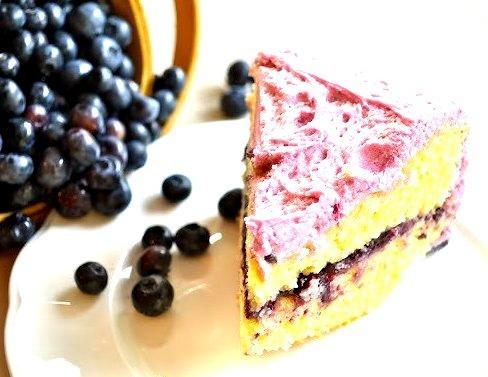 Cake, Blueberry