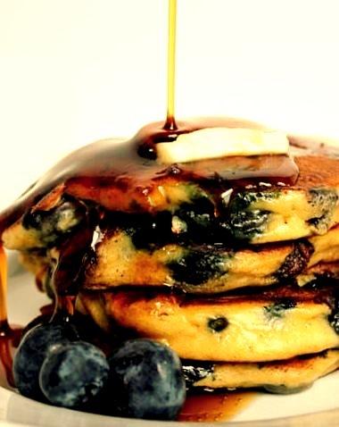 Pancake, Blueberry