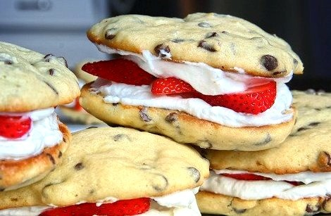 Strawberry, Cookie