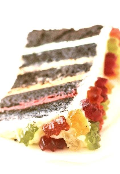Recipe: Gummy Bear Layer Cake
