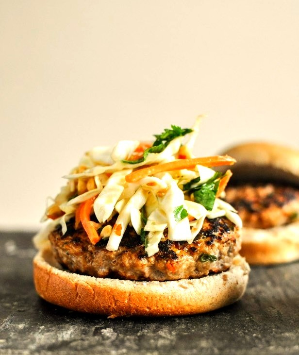Spice up your basic burger with coconut milk and chili sauce. Introducing the Thai Turkey Burger. Get the recipe.