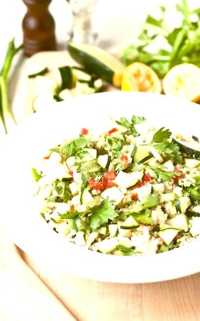 Green Apple and Macadamia Quinoa