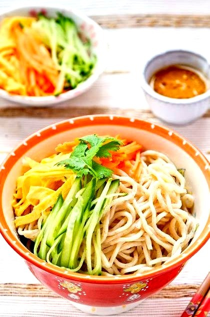 Recipe: Taiwanese Homemade Noodle Salad