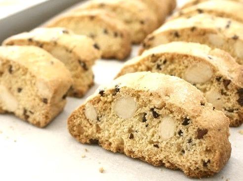 Almond & Cocoa Nib Biscotti