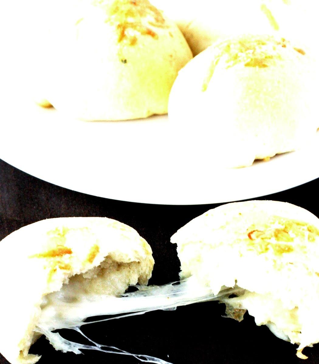 Cheesy Stuffed Buns