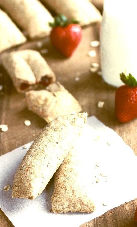 Homemade Strawberry Nutri Grain Bars